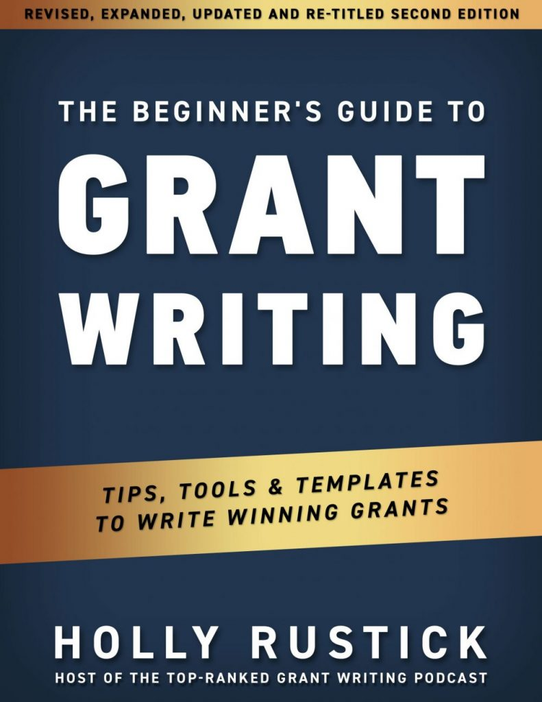 Grant Writing Book Cover