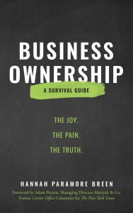 Business Ownership: A Survival Guide